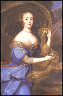 Portrait de Mme de Montespan conservé au château de Versailles