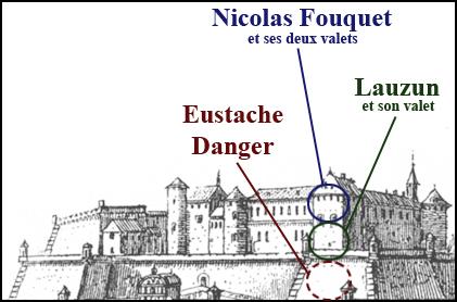 Citadelle de Pignerol en 1671