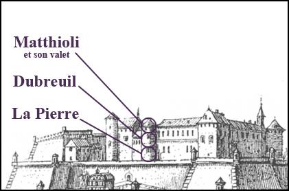 Citadelle de Pignerol en 1679